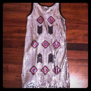 NWT Sequined knit dress by Flowers by Zoe